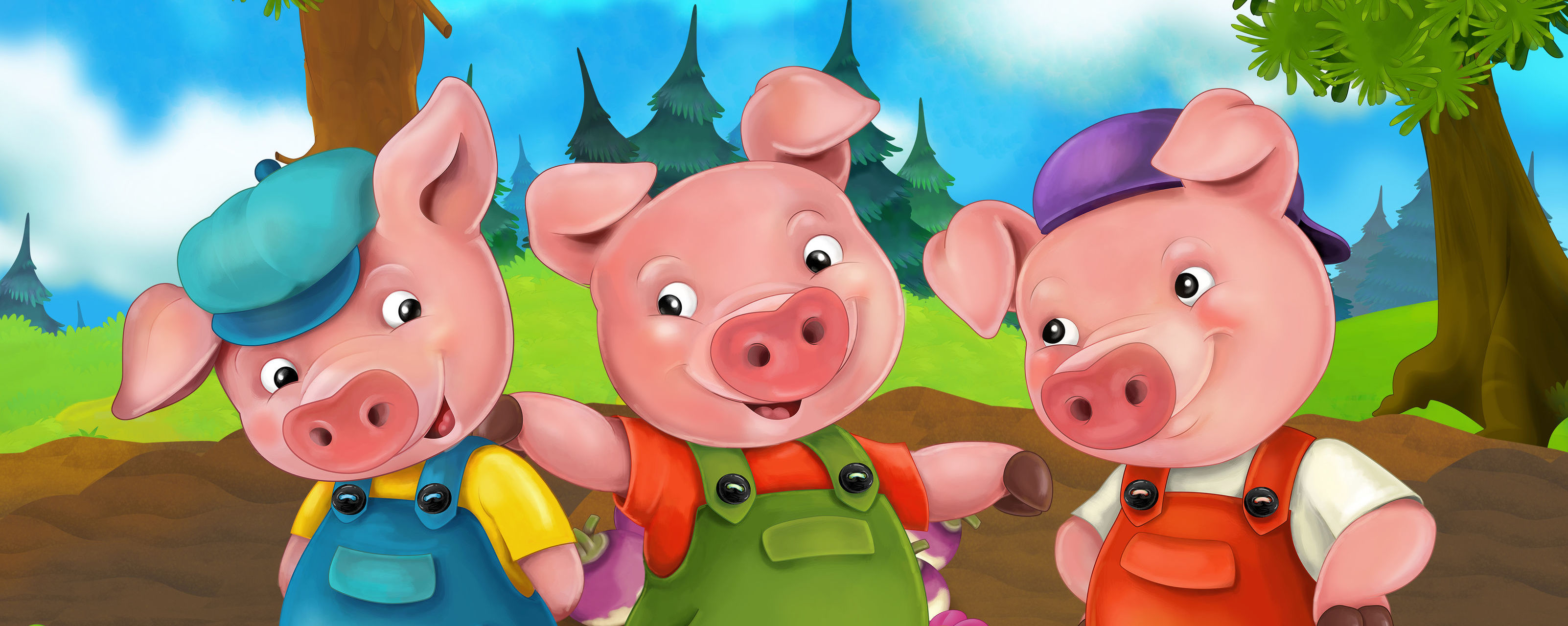 The Three Little Websites