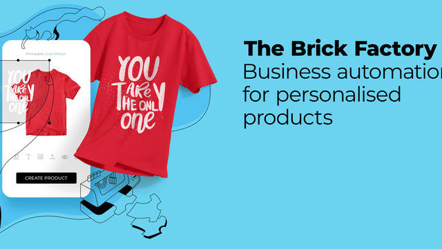 Print on Demand. The Brick Factory