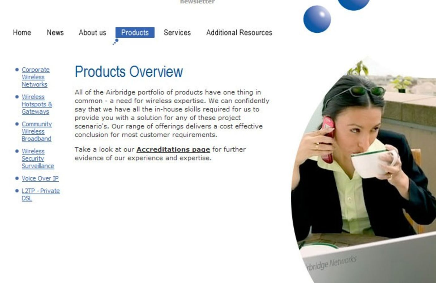 Airbridge Networks Products - Airbridge