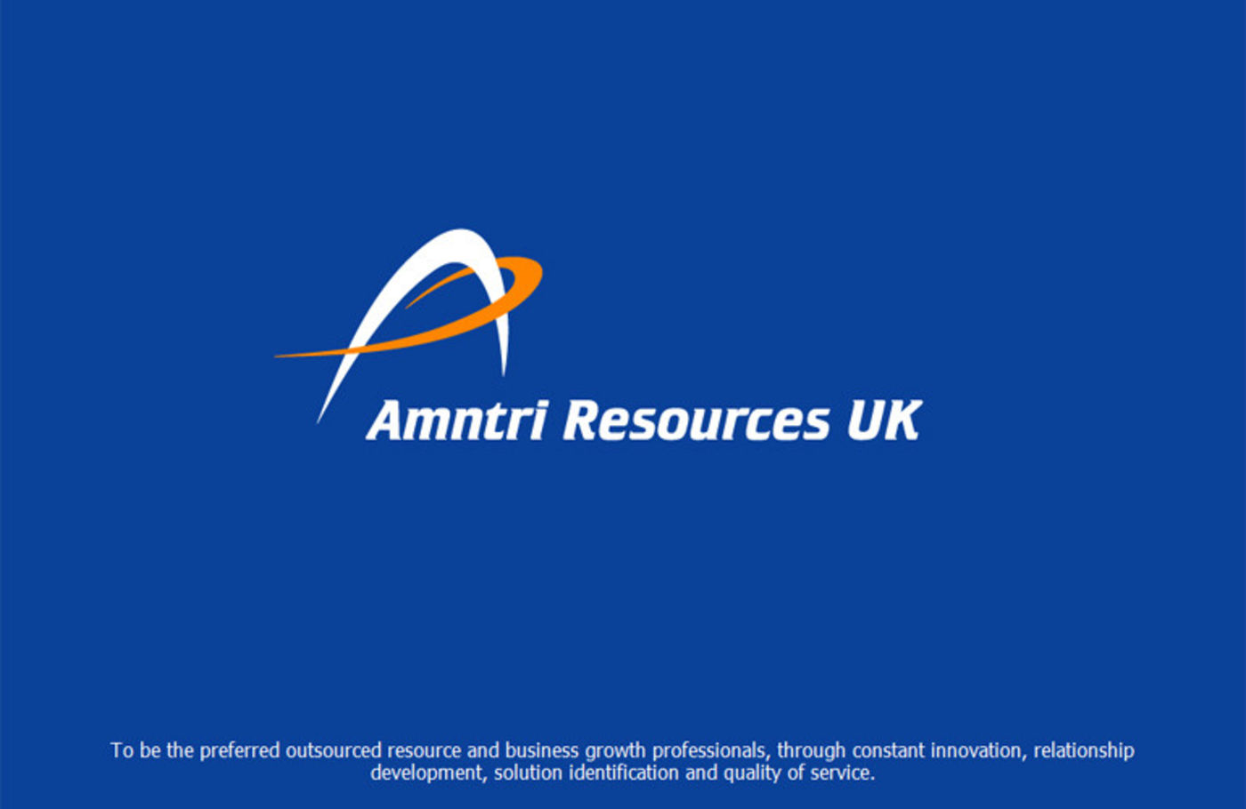 Amntri Resources UKF Welcome