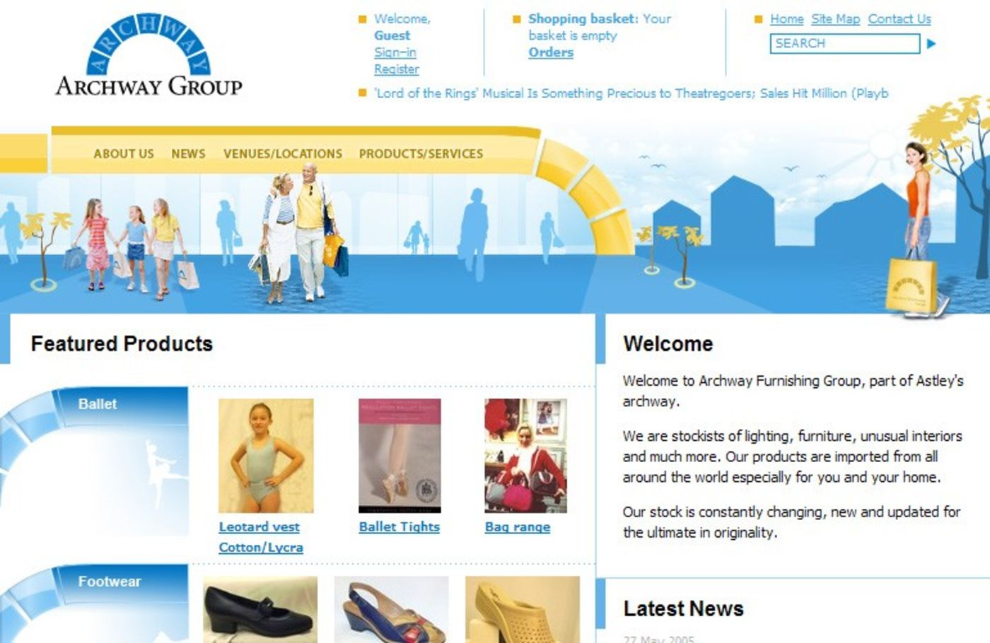 Archway Group Homepage header