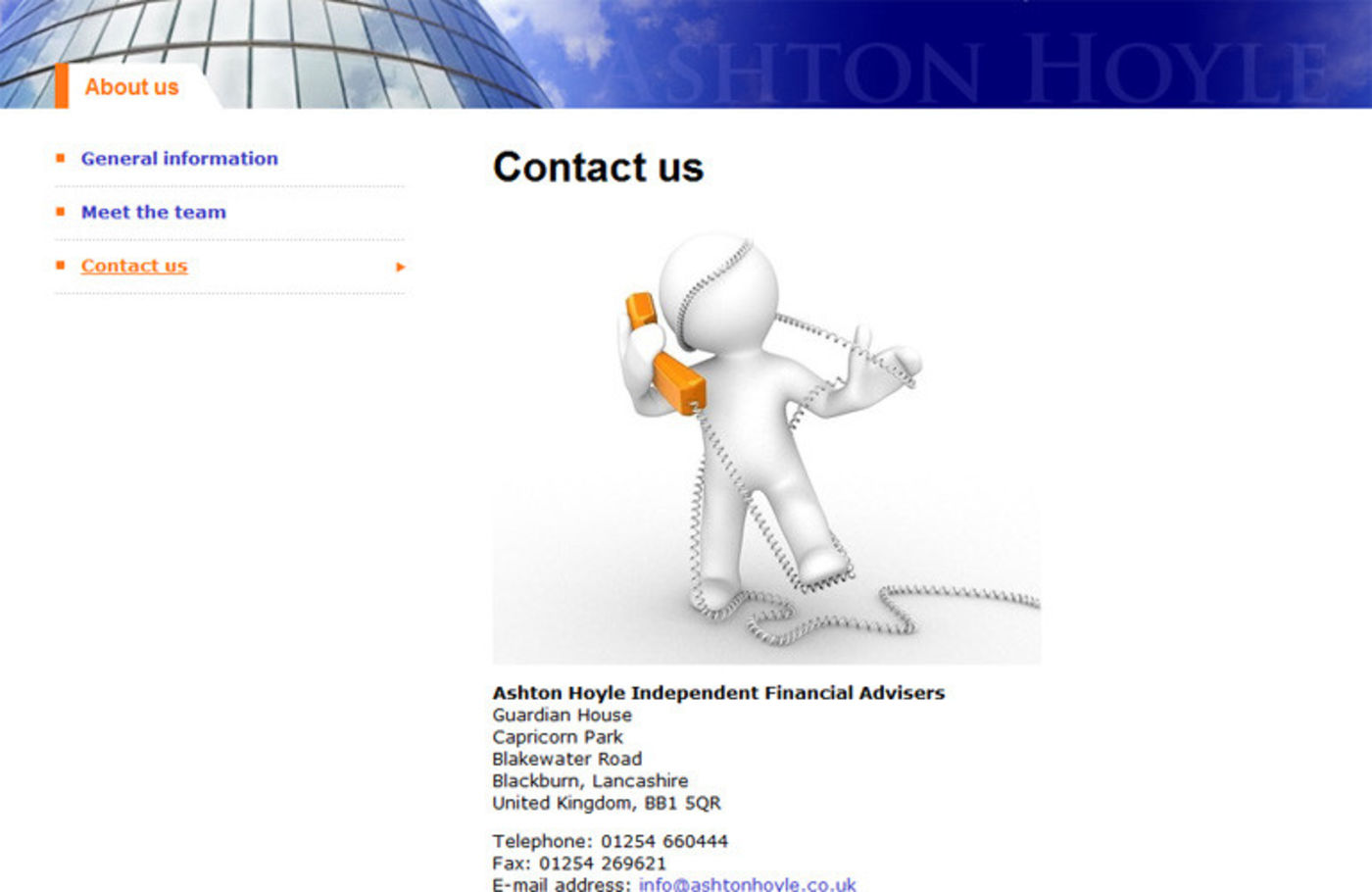 Ashton Hoyle Independent Financial Advisers Contact us - Ashton Hoyle