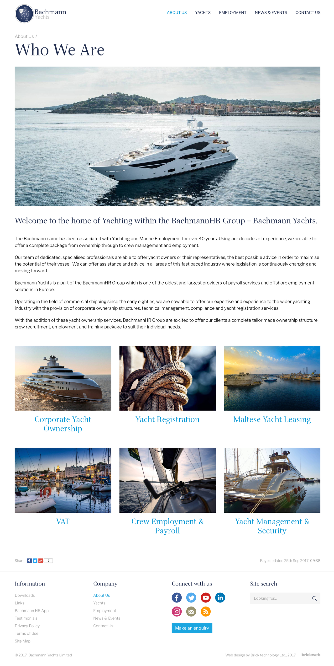 Bachmann Yachts Category