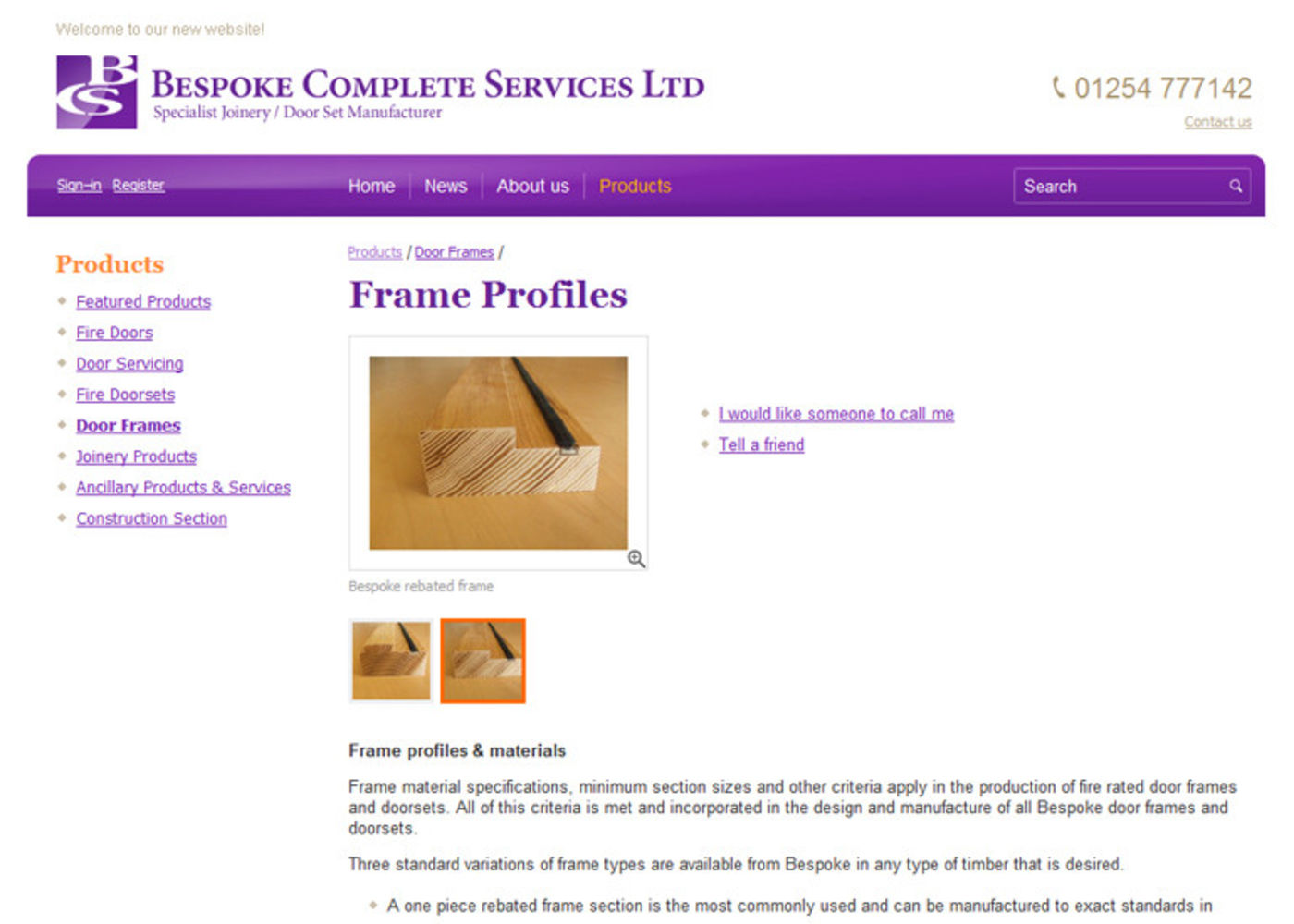 Bespoke Complete Services Ltd Product