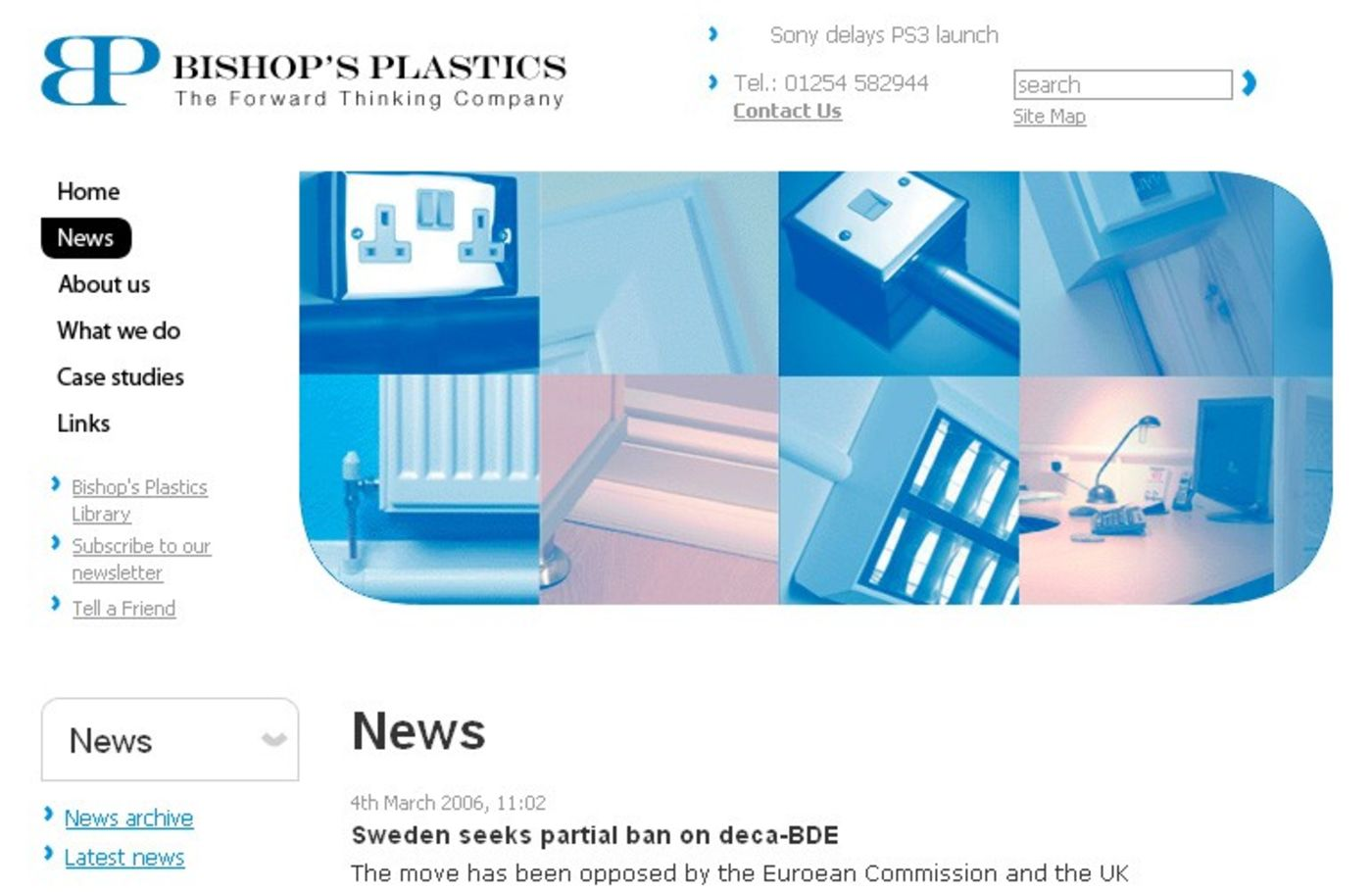 Bishop's Plastics News
