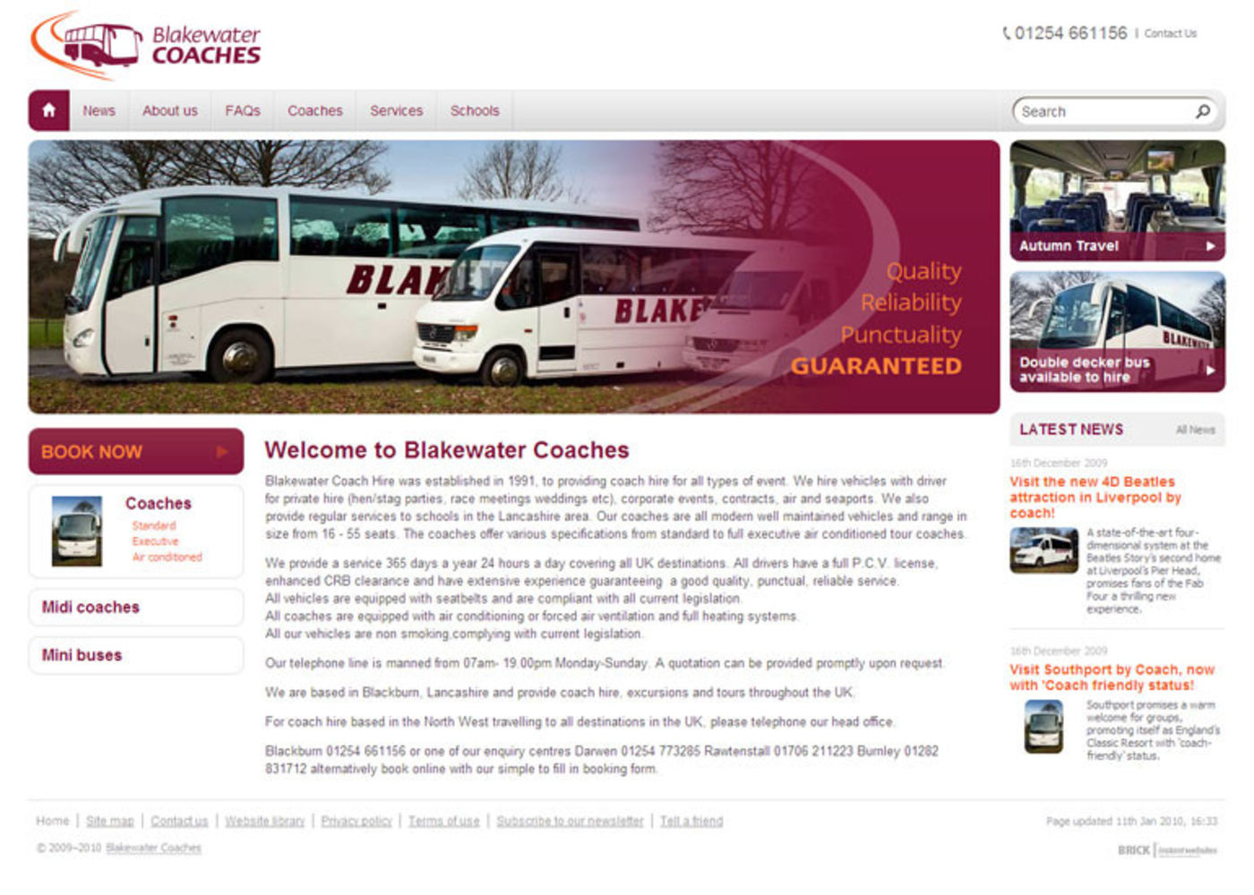Blakewater Coaches Home