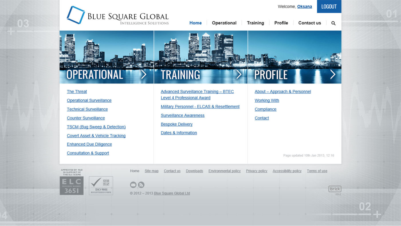 Blue Square Global Home