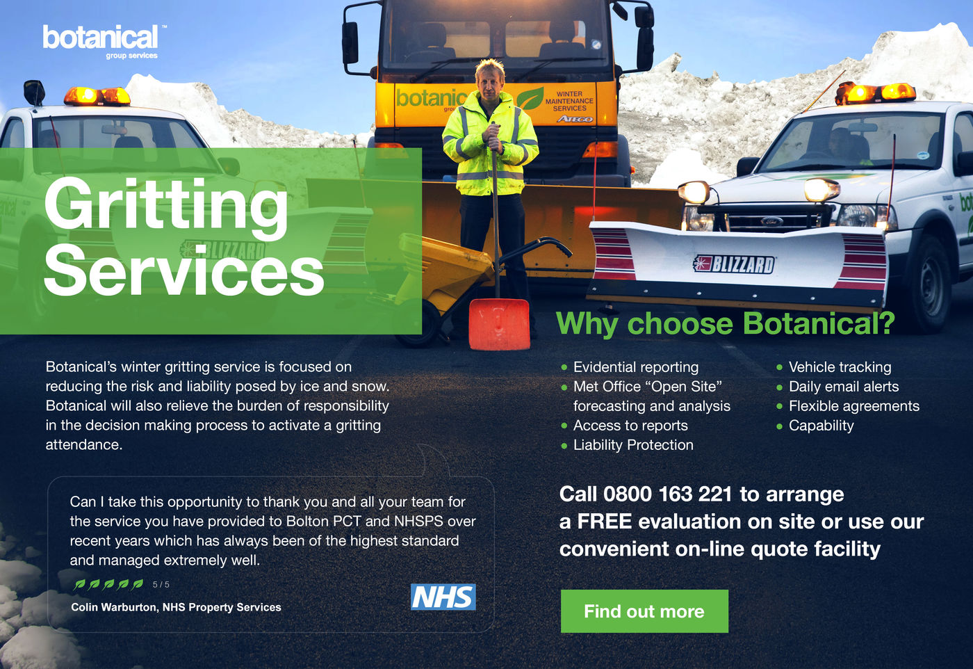 Botanical Group Services Gritting Services