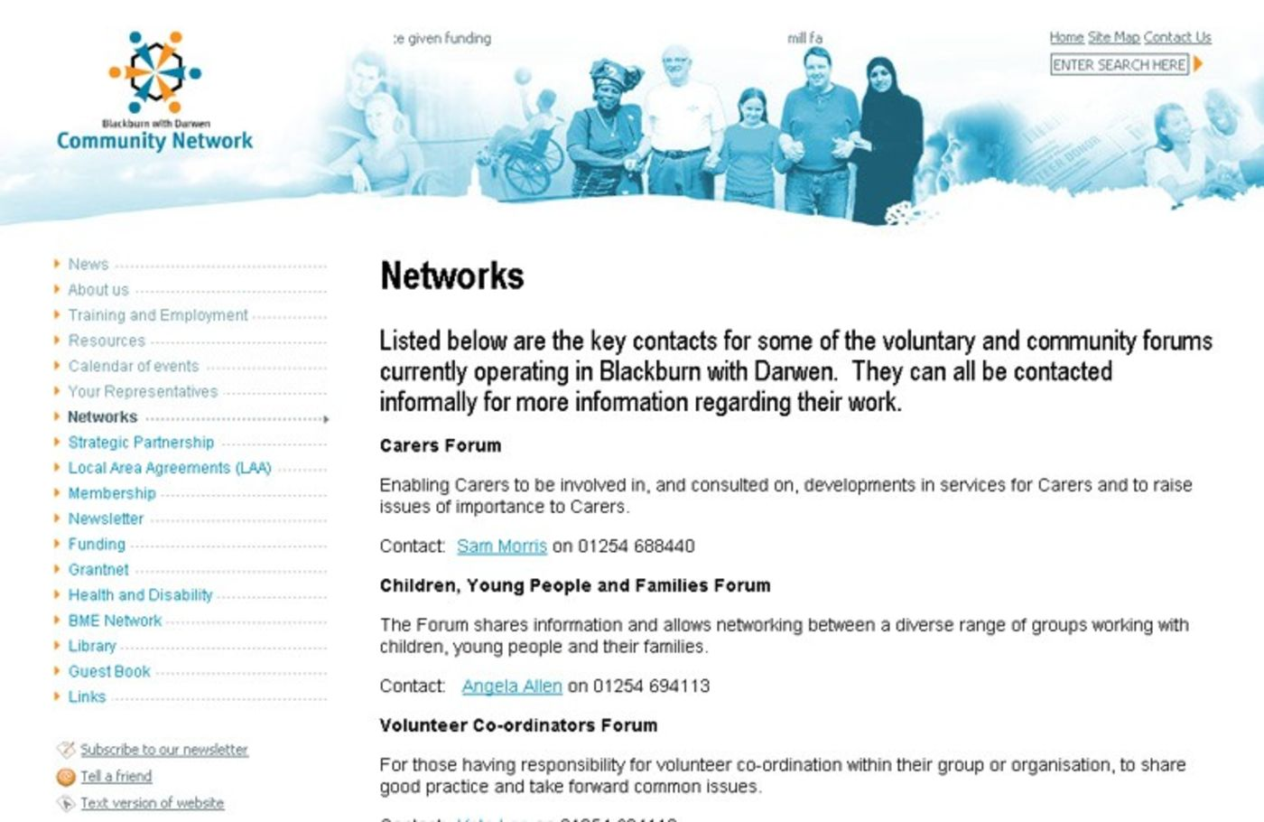 BwD Community Network Networks