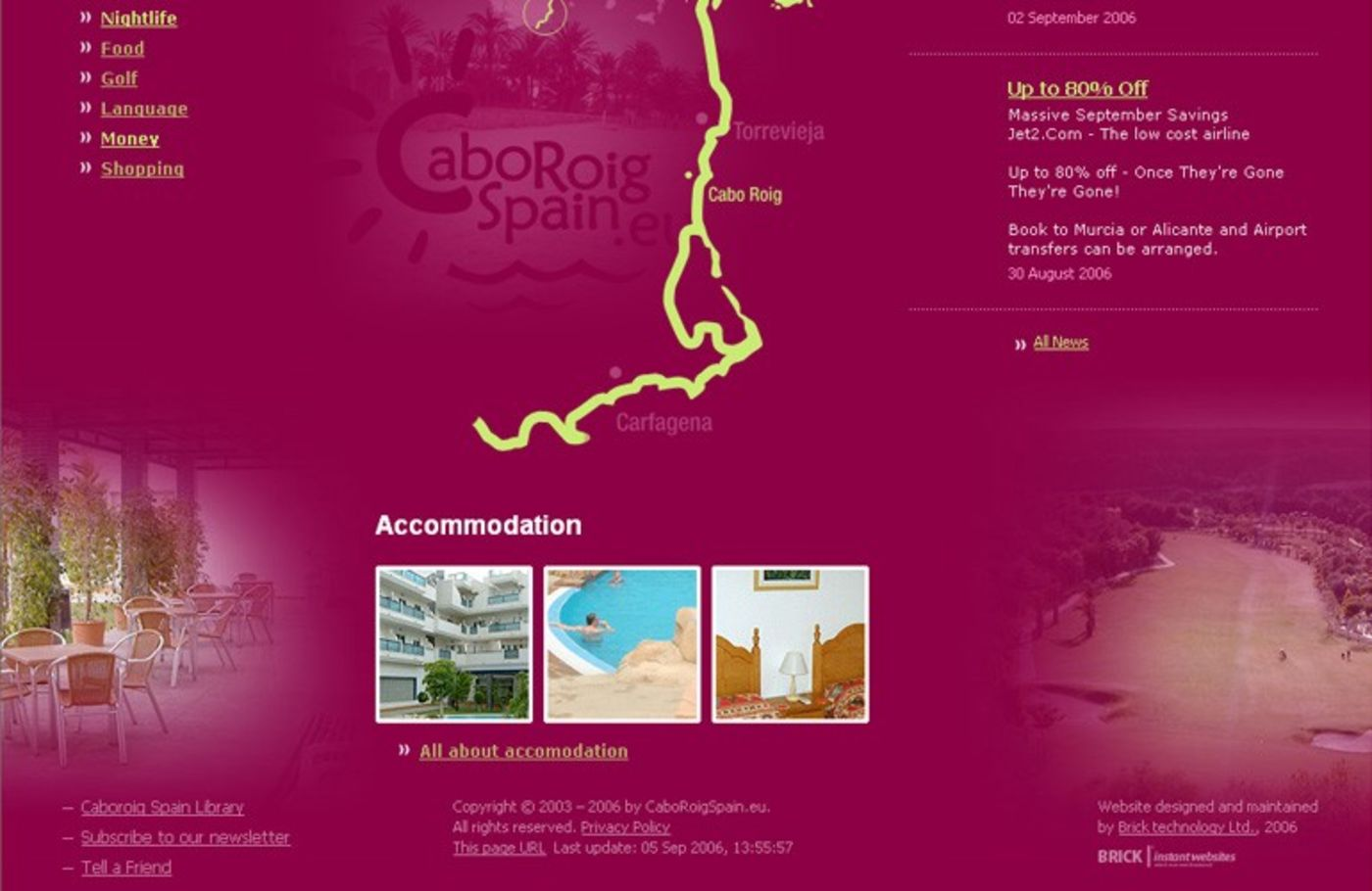 Cabo Roig Spain Homepage footer - Cabo Roig Spain