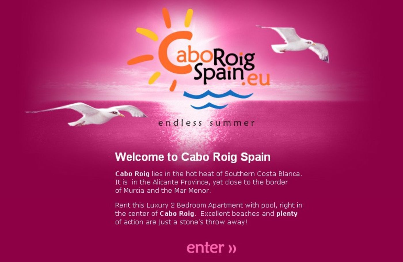Cabo Roig Spain Welcome - Cabo Roig Spain