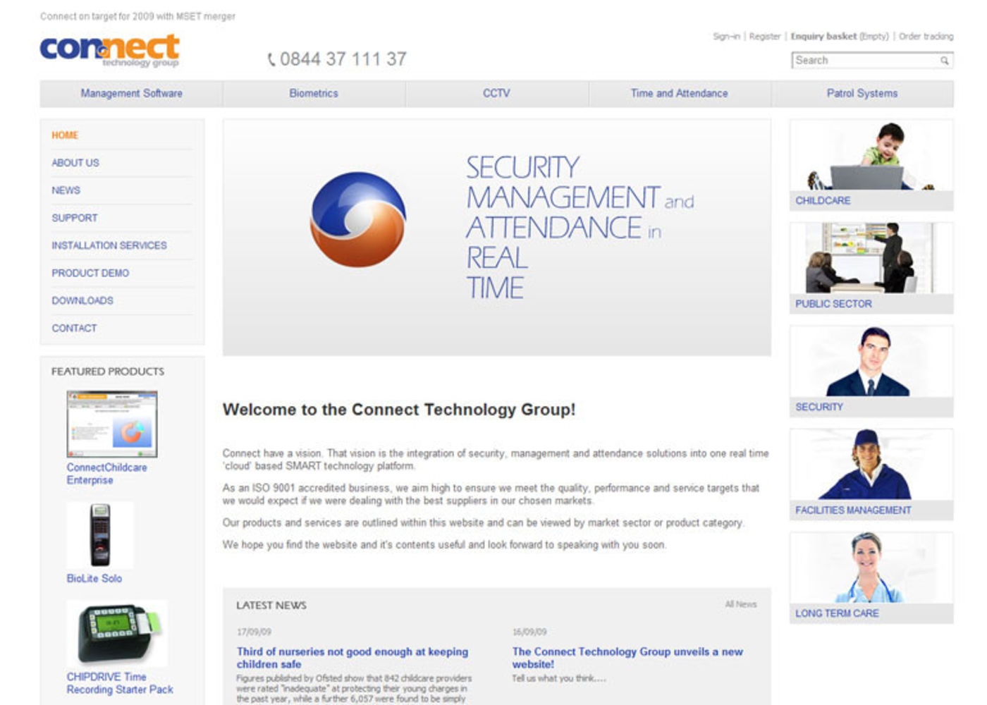 Connect Group Homepage header
