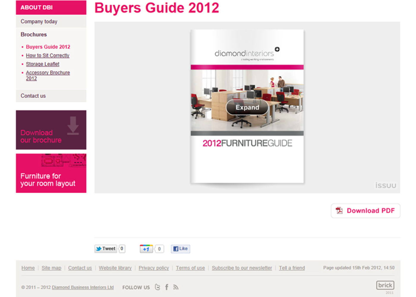 Diamond Business Interiors Ltd Buyers Guide 2012