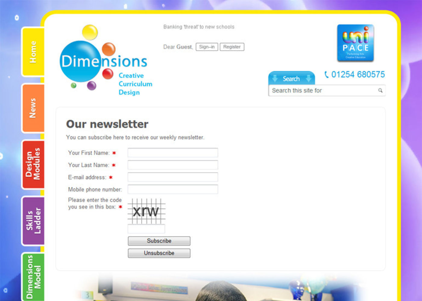 Dimensions Creative Curriculum Our newsletter