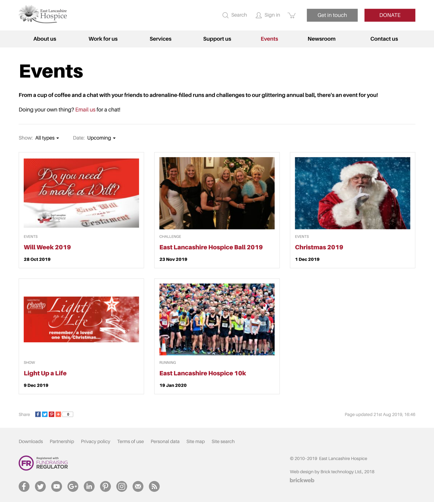 East Lancashire Hospice Events