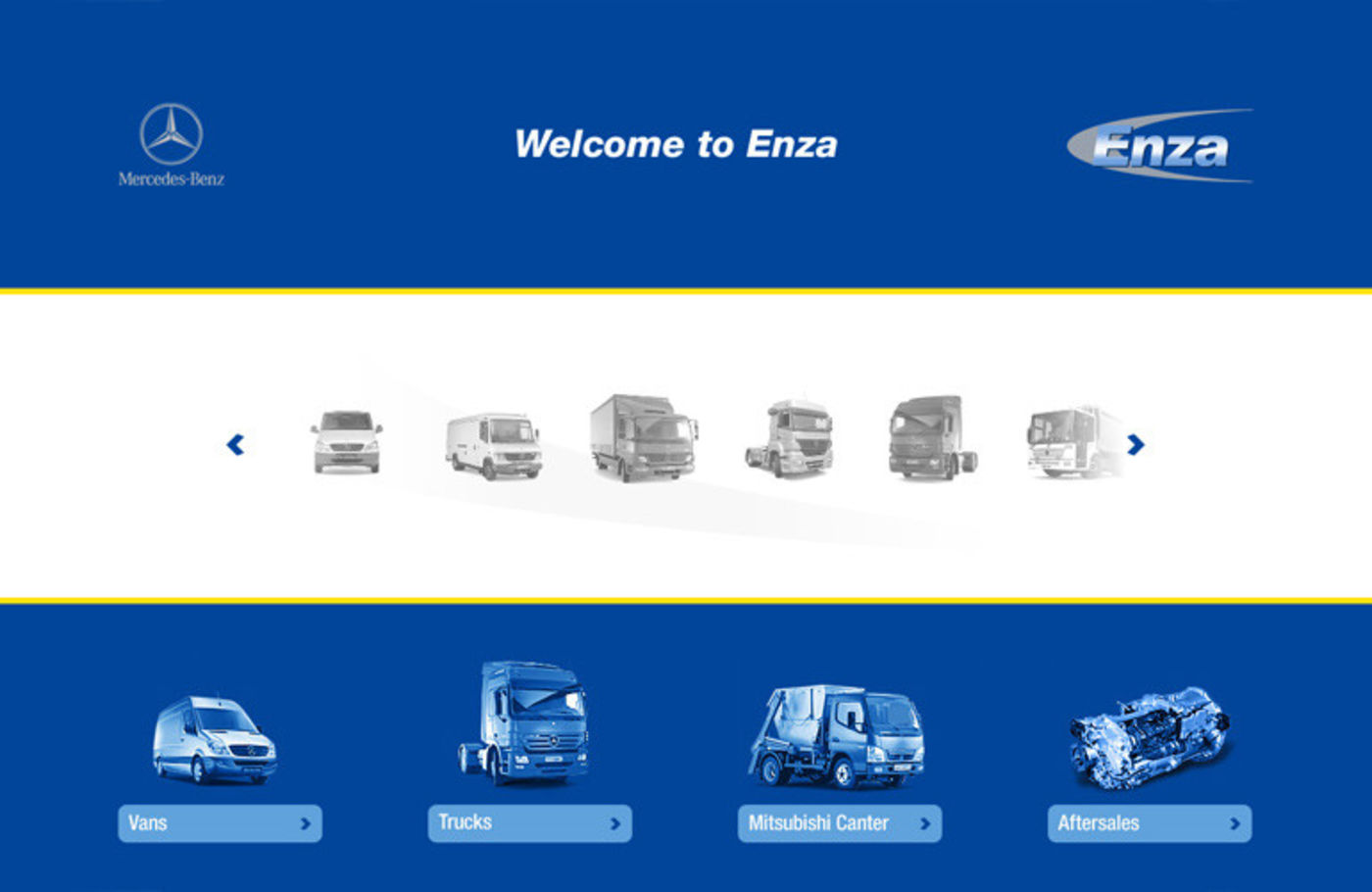 Enza Motors Homepage - Enza Motors