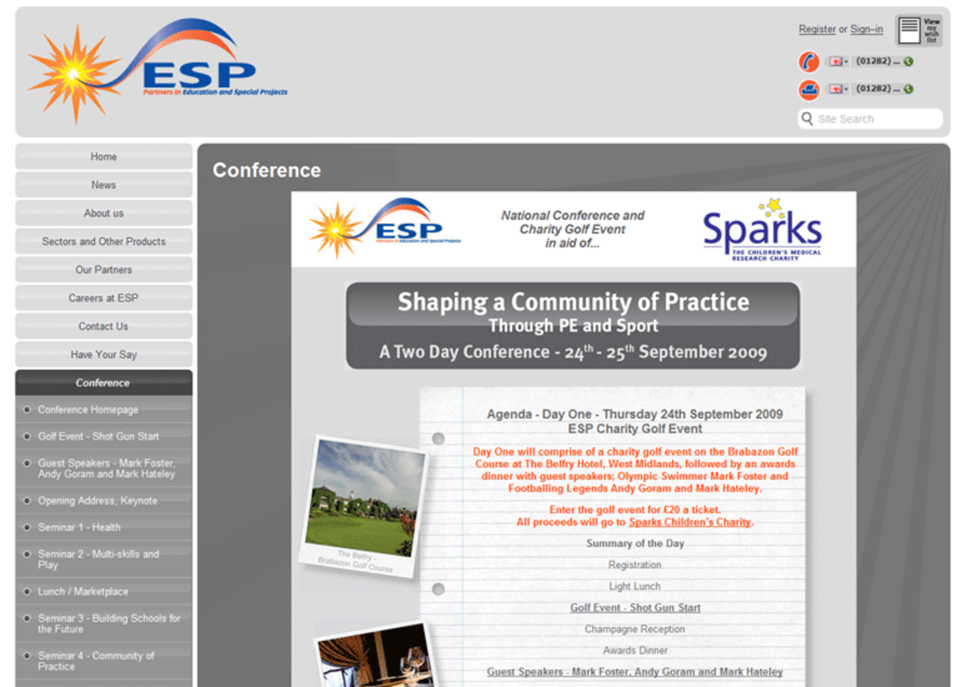 Education and Special Projects Conference