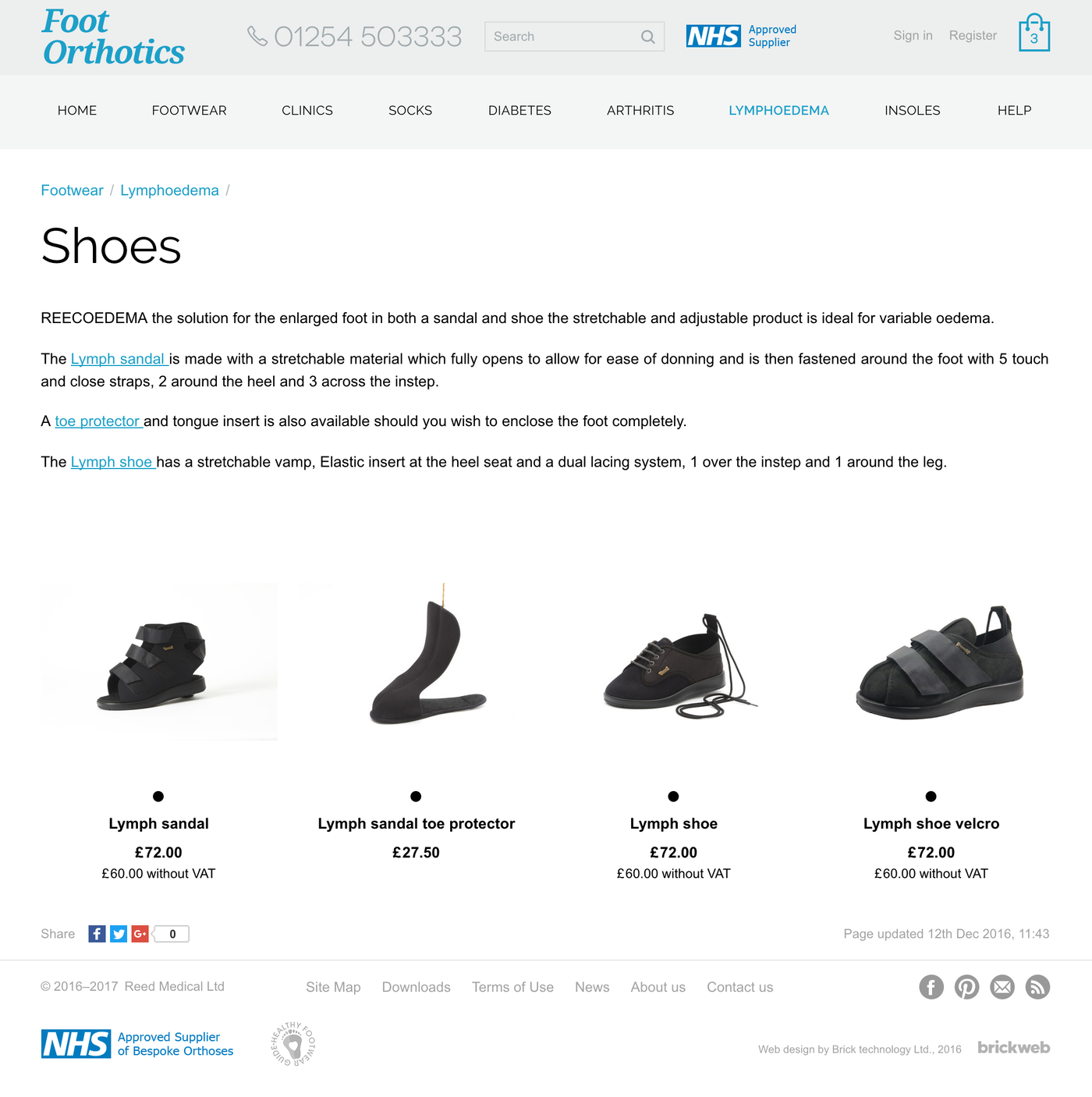 Foot Orthotics Categories