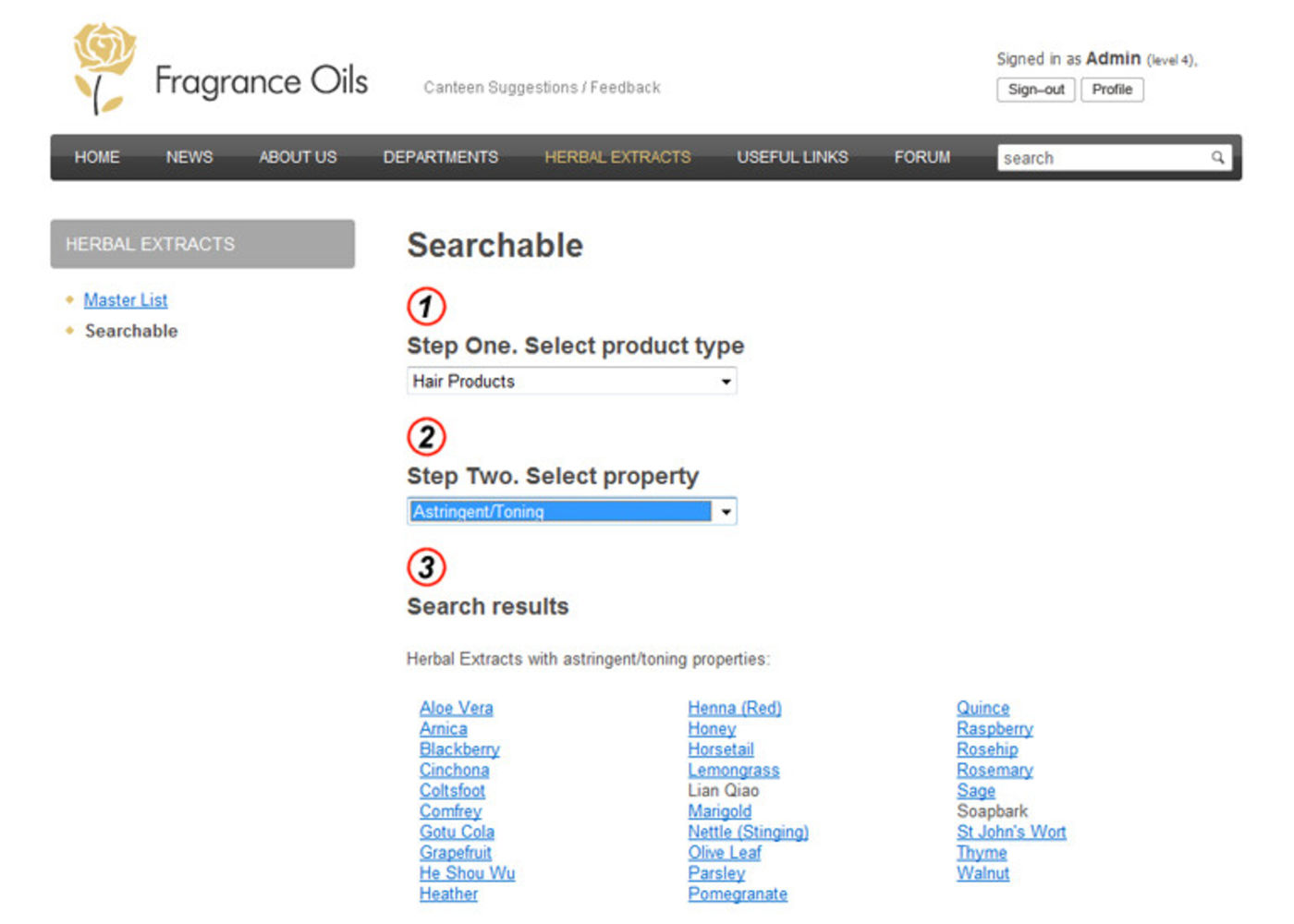 Fragrance Oils Ltd Searchable