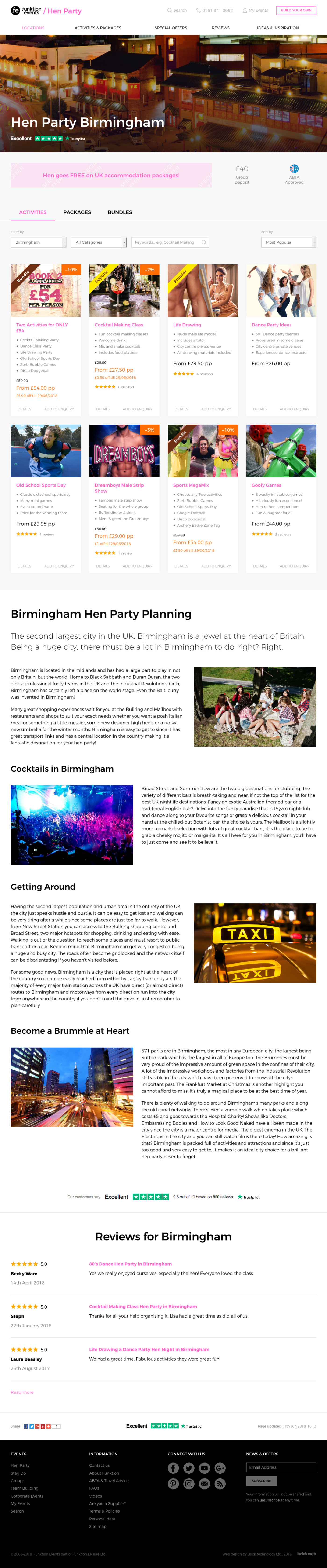 Funktion Events Events