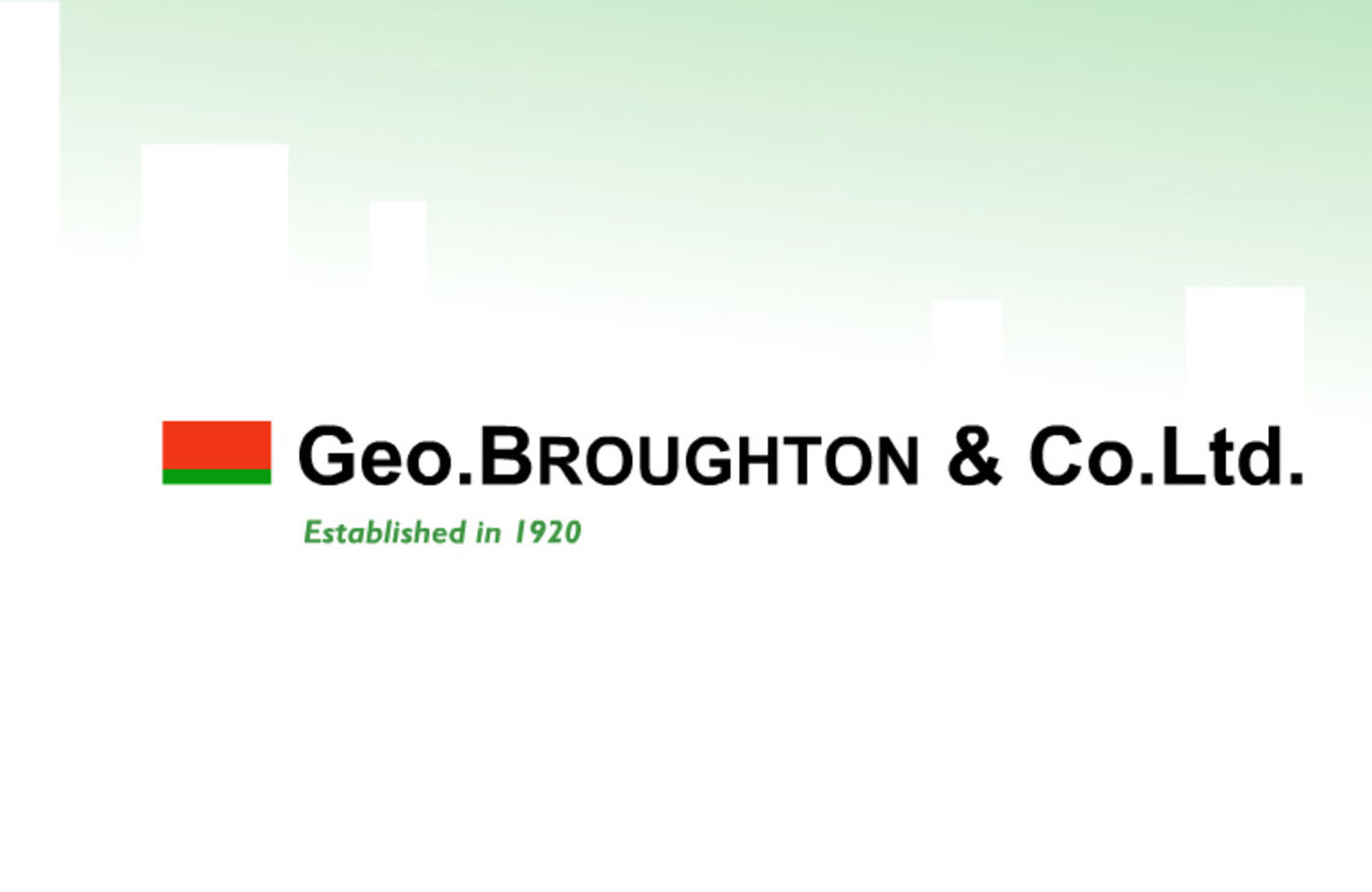 Geo Broughton Welcome