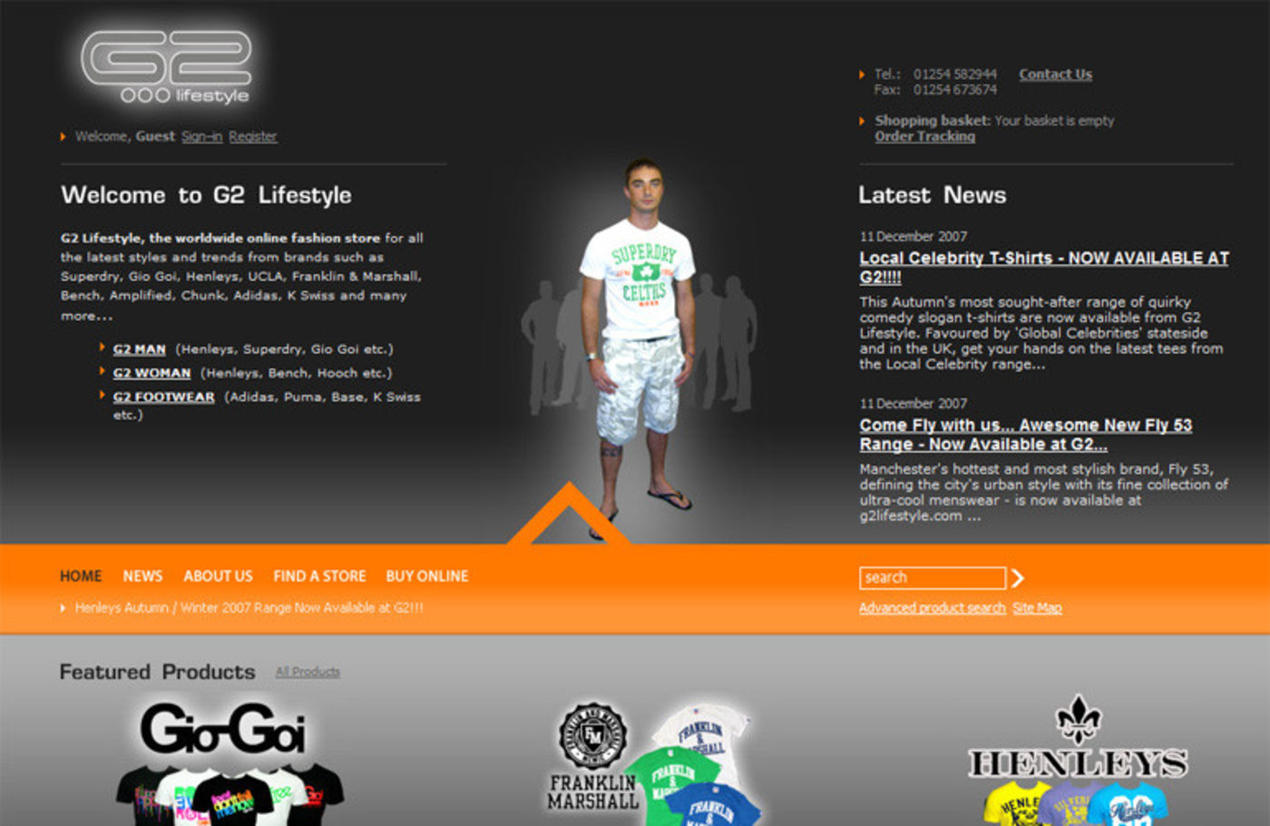 G2 Lifestyle Homepage header - G2