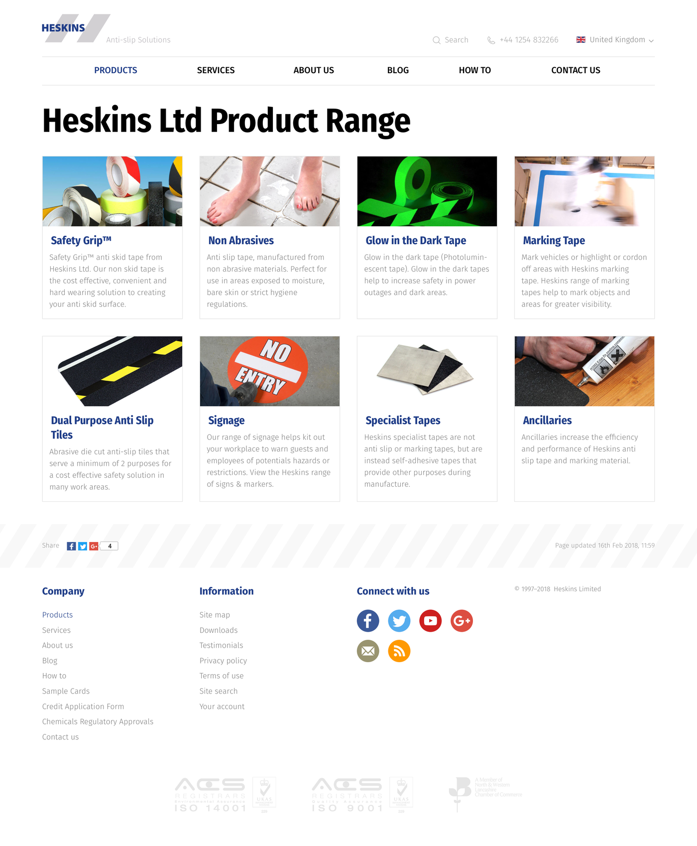 Heskins Limited Products