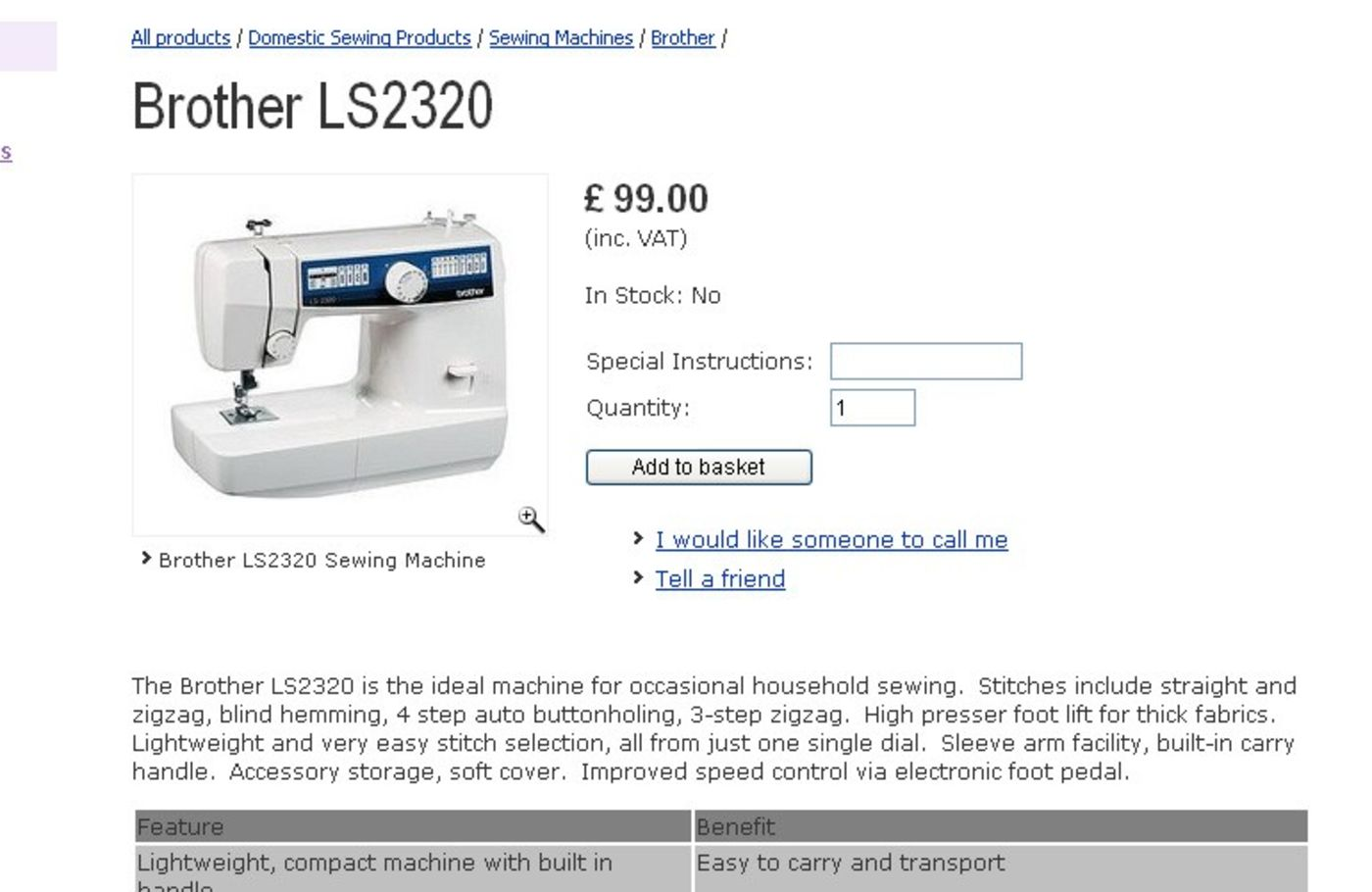 Sewing Machines from Hobkirk Product