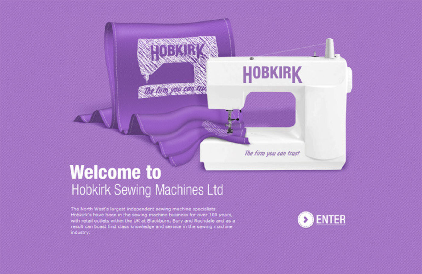 Sewing Machines from Hobkirk Welcome