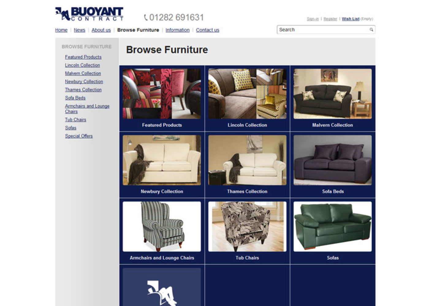 BUOYANT Contract Browse furniture