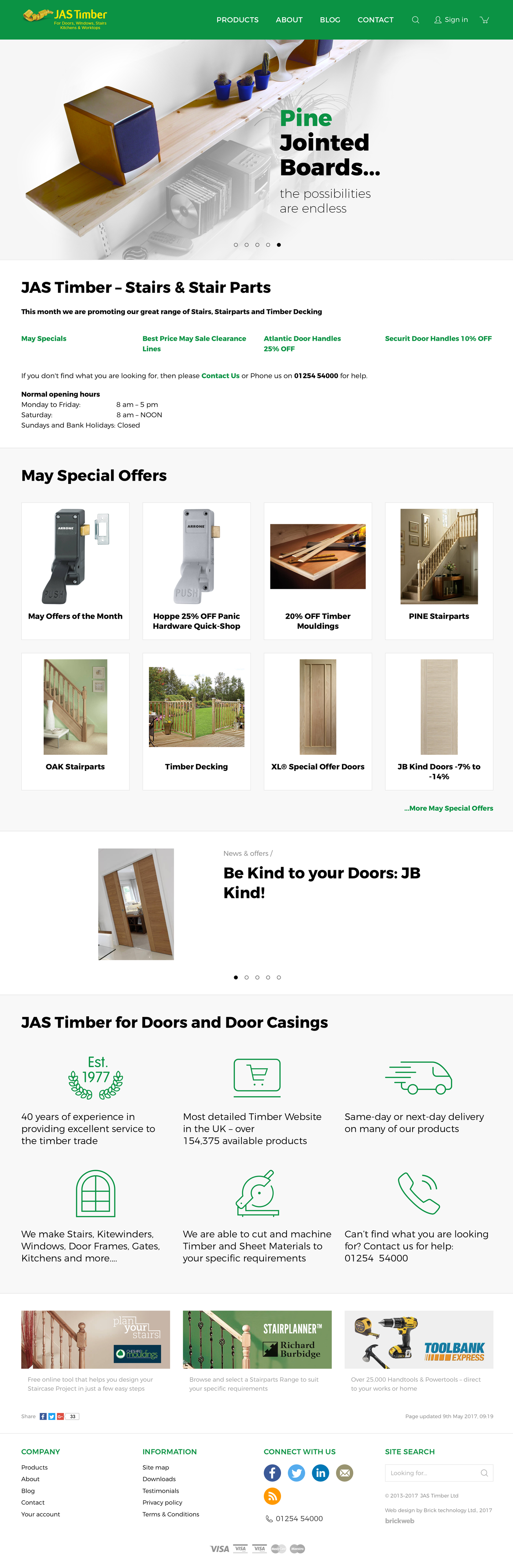 JAS Timber Ltd Home page