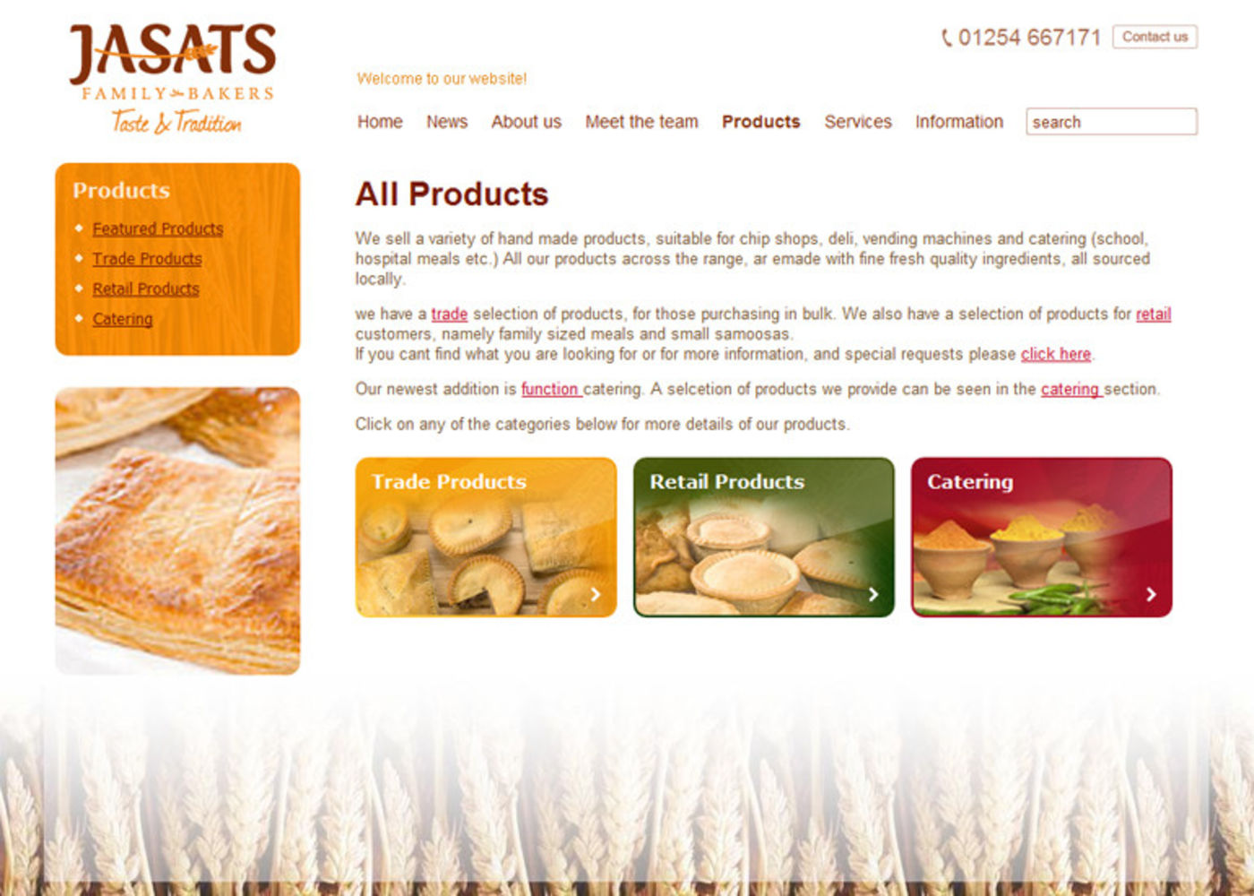 Jasat Pies Products