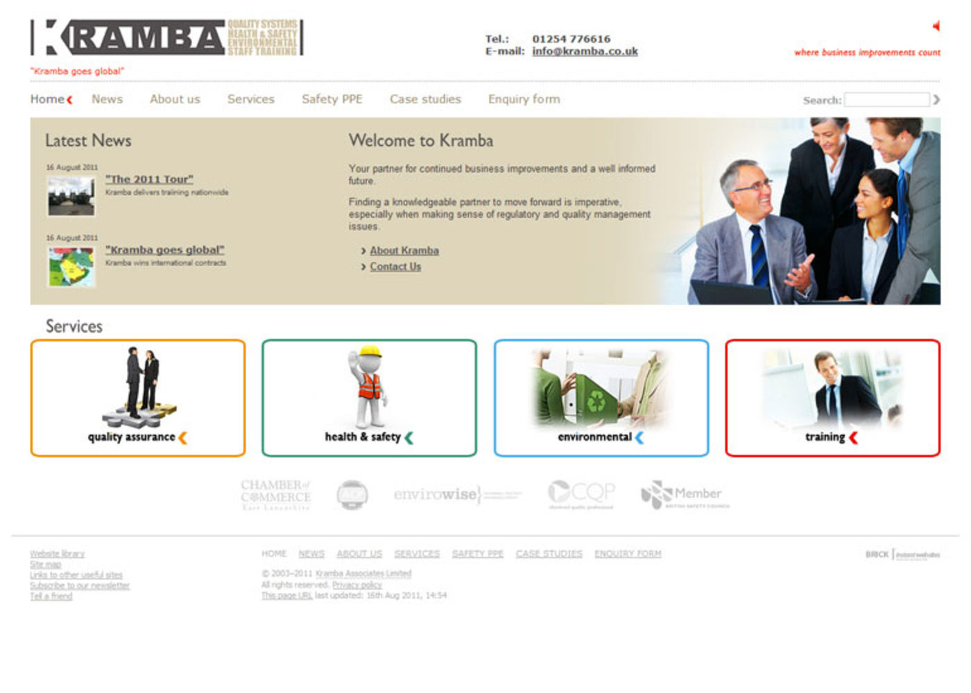Kramba Associates Limited Home page - Kramba