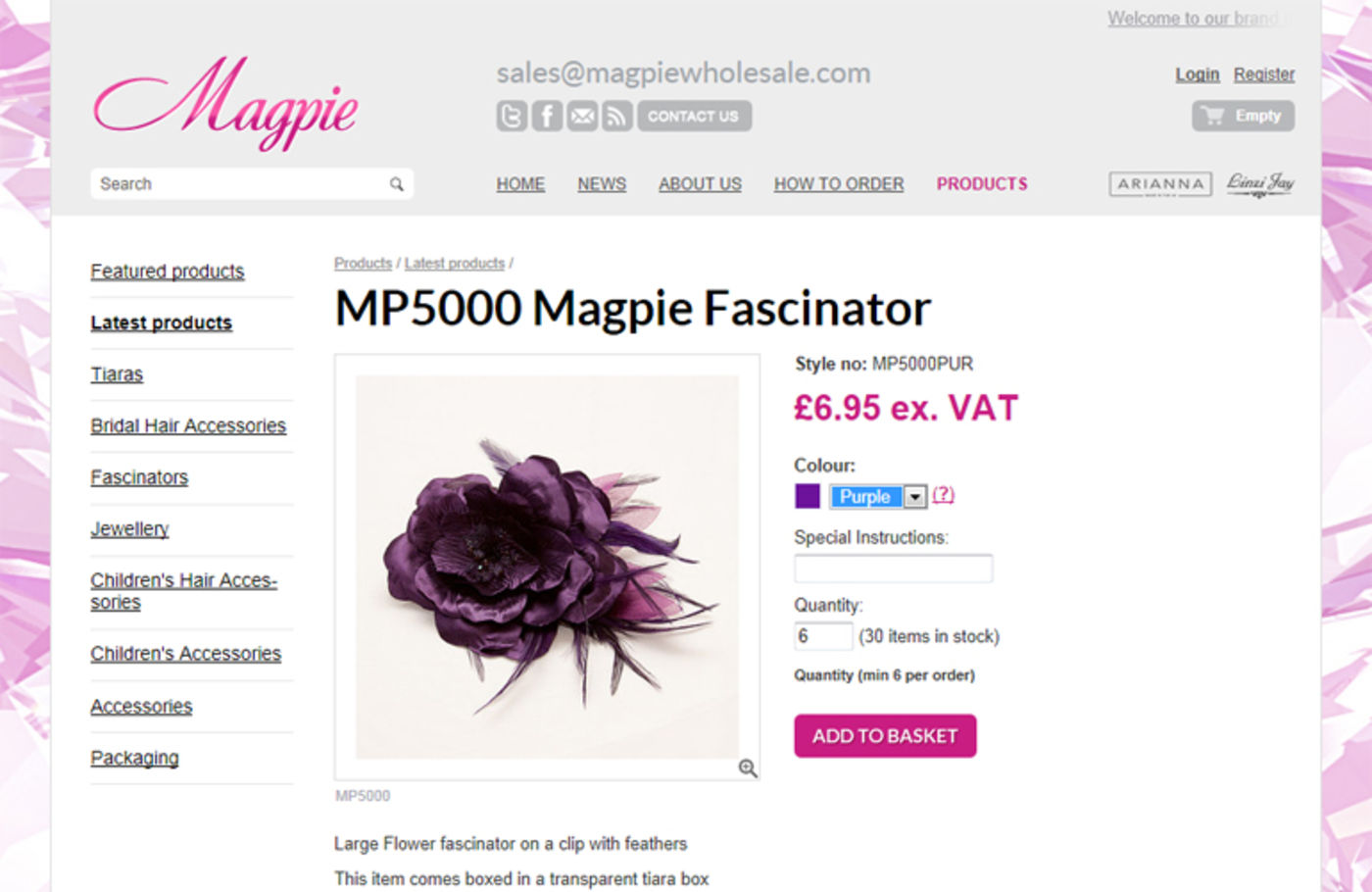 Magpie Product