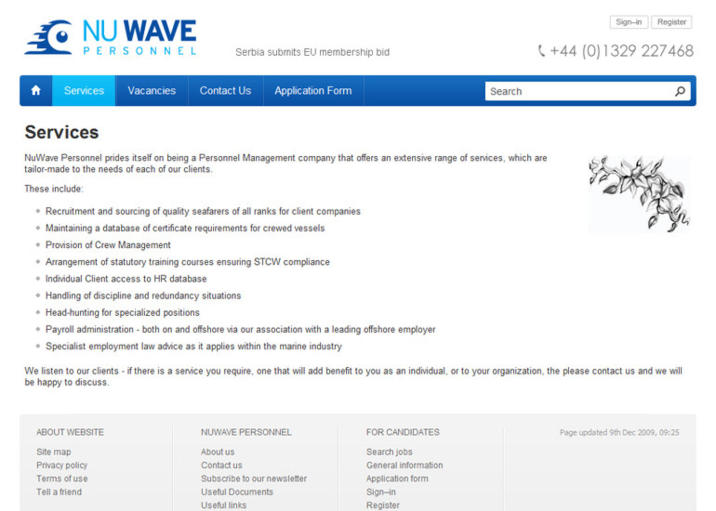 NuWave Personnel Regular page