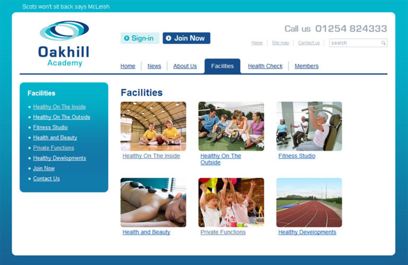 Oakhill Academy Facilities