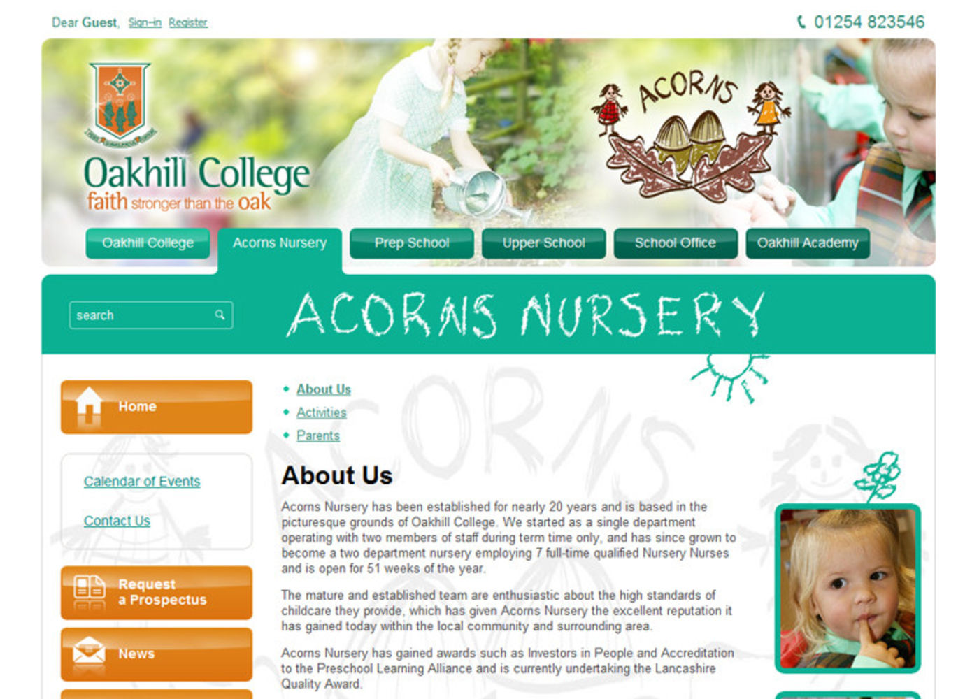 Oakhill College Regular page