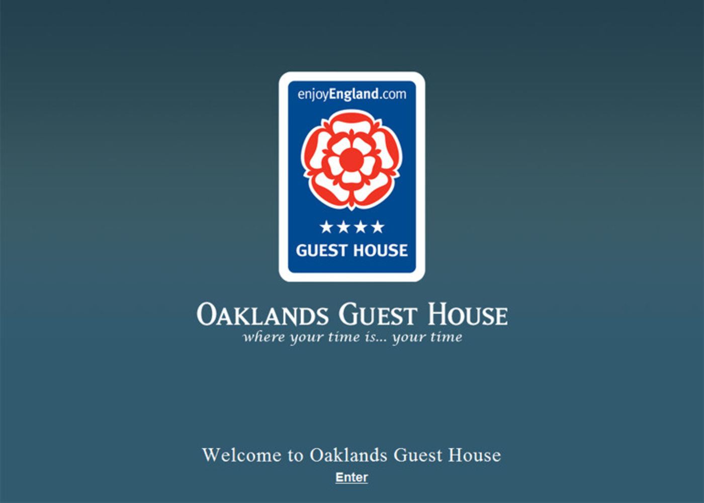 Oaklands Guest House Welcome