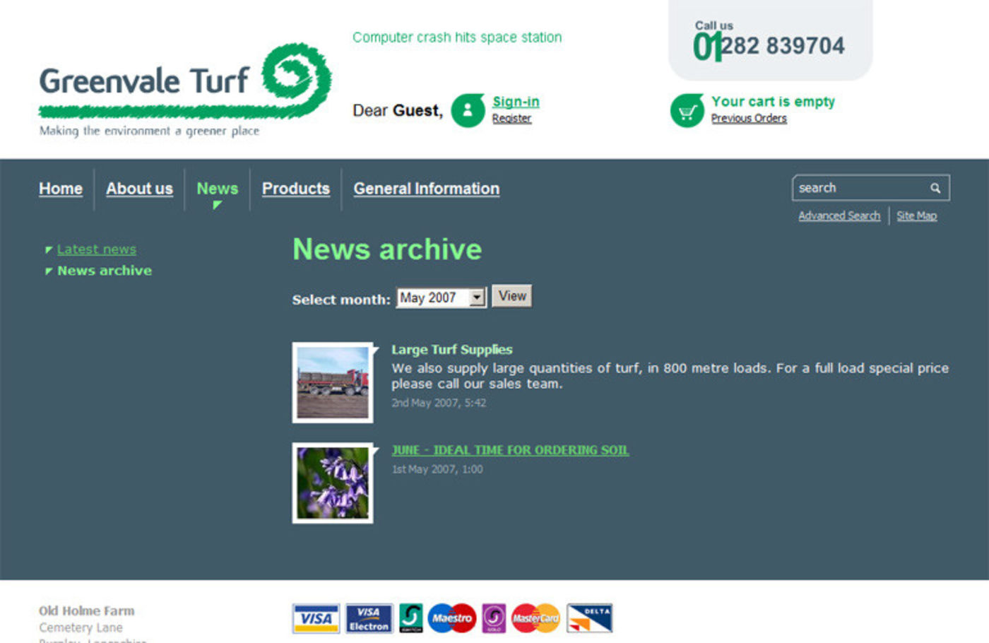 Greenvale Turf News archive
