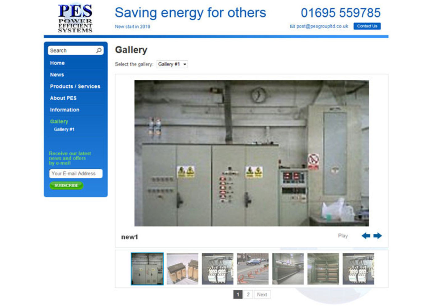 Power Efficient Systems Gallery