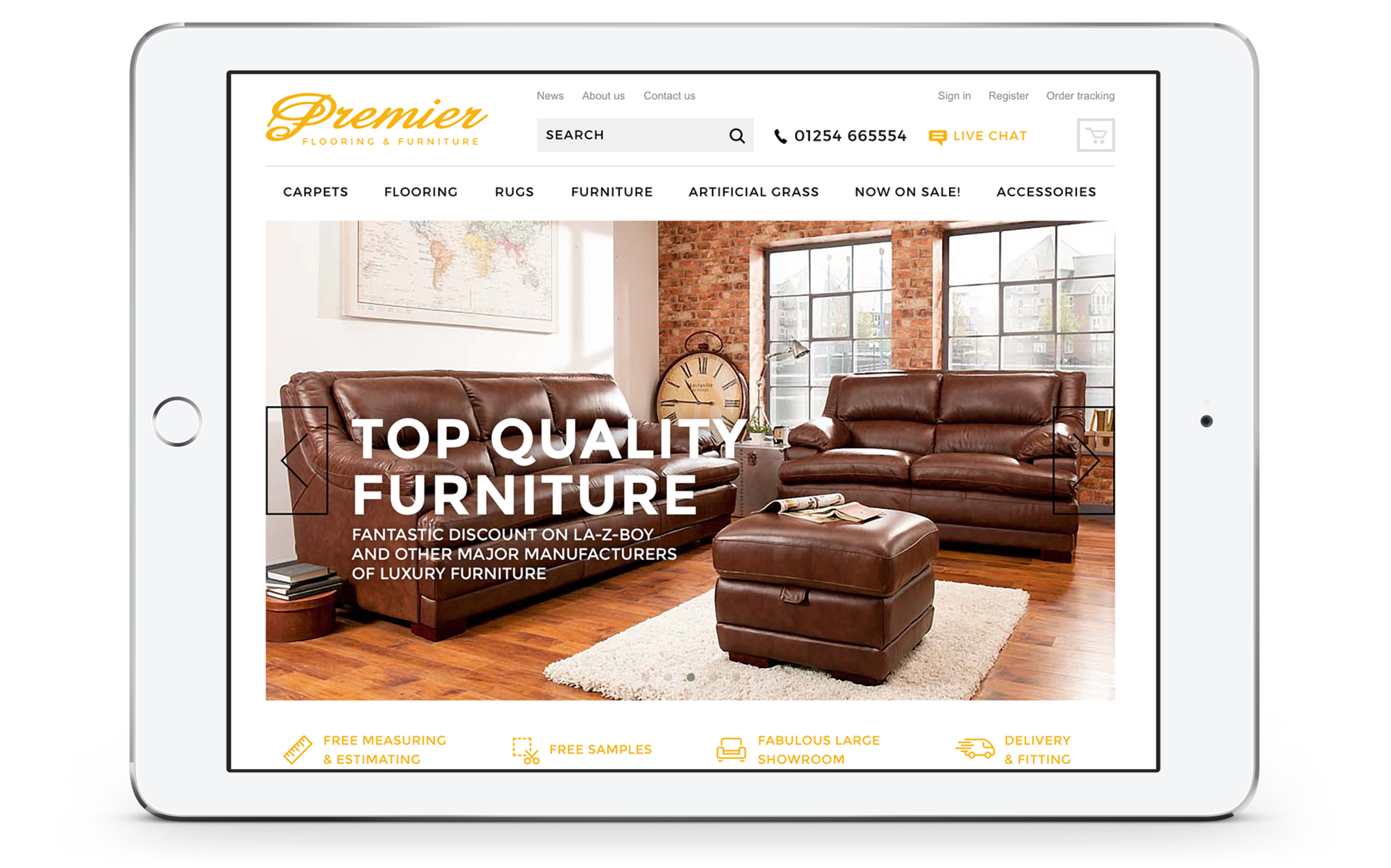 Premier Flooring & Furniture Ltd