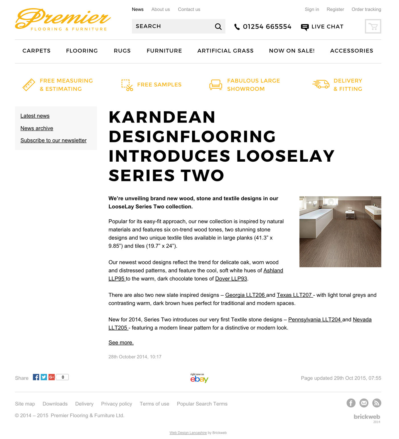Premier Flooring & Furniture Ltd News