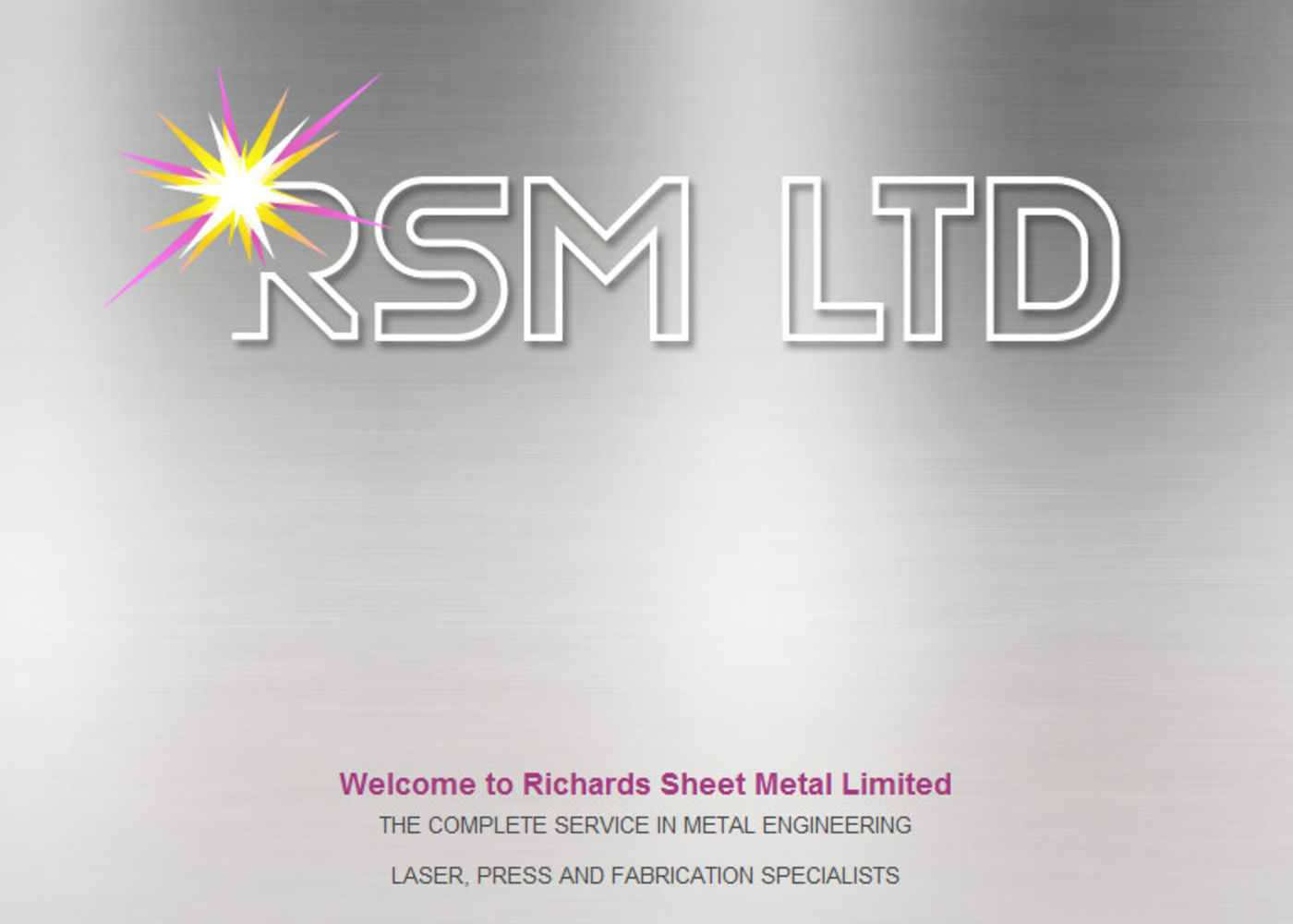 Richards Sheet Metal Limited Welcome