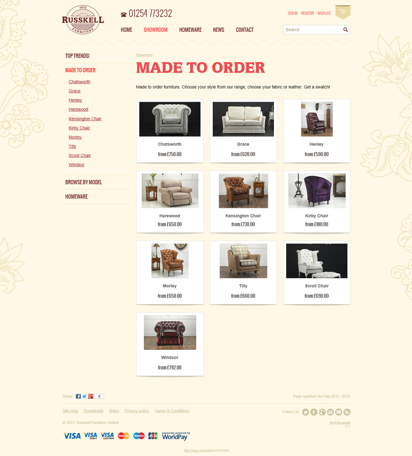 Russkell Furniture Made to order