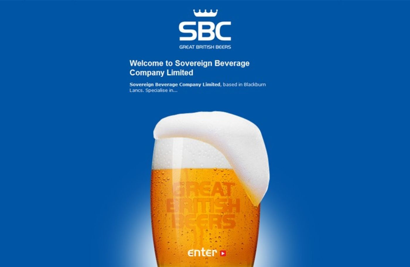 Sovereign Beverage Company Welcome