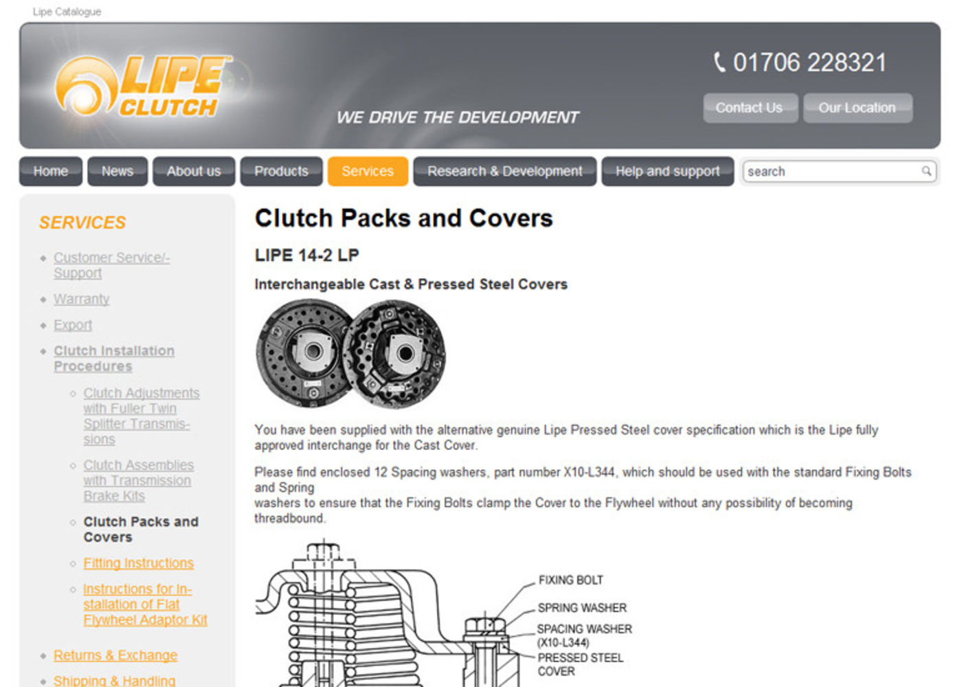 Setco Lipe Clutch Regular page