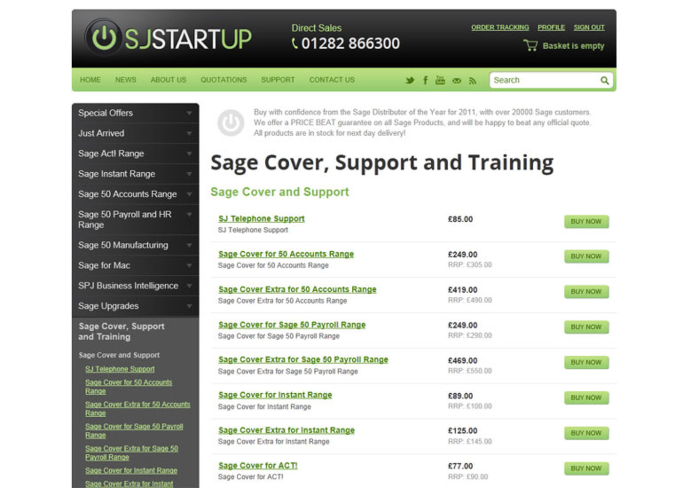 SJ Startup Page Products - SJ Startup