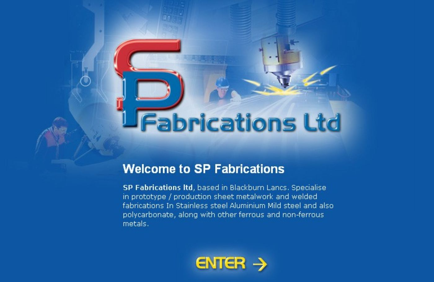 SP Fabrications Welcome