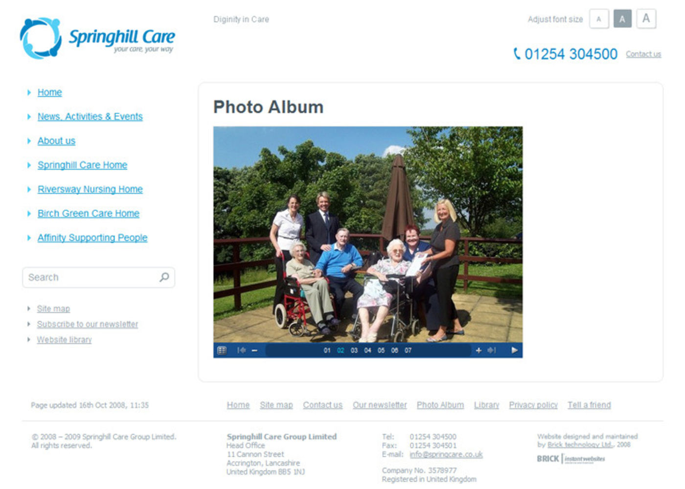 Springhill Care Group Limited Photo album