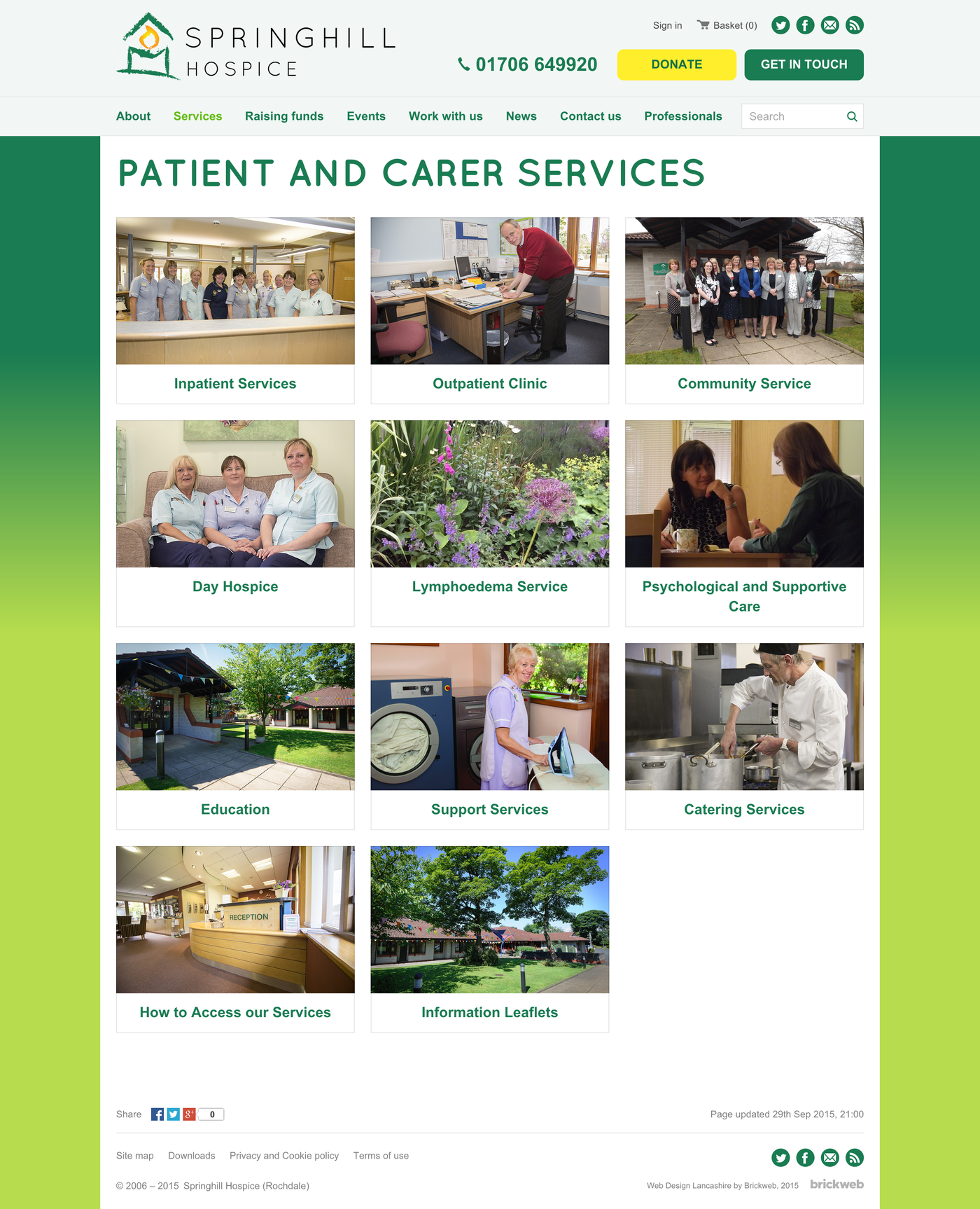 Springhill Hospice Services
